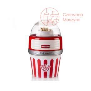 Maszyna do popcornu XL Party Time czerwona