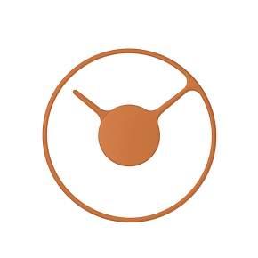 Zegar ścienny Stelton Time Ø 22 cm, pomarańczowy