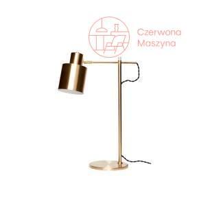 Lampa na biurko Hübsch Seldo, złota