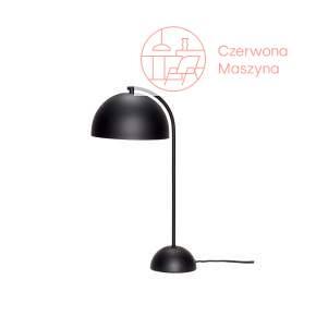 Lampa na biurko Hübsch Semisphere, czarna