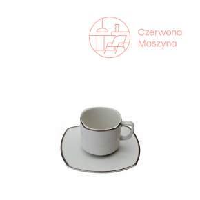 Filiżanka do herbaty ze spodkiem Serena Bugatti