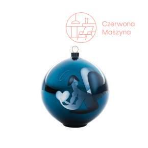 Bombka na choinkę A di Alessi Blue Christmas aniołek