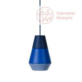Lampa wisząca Grupa Ili Ili La Lava, niebieska