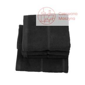 Ręcznik kąpielowy Aquanova Adagio 70 x 130 cm, czarny