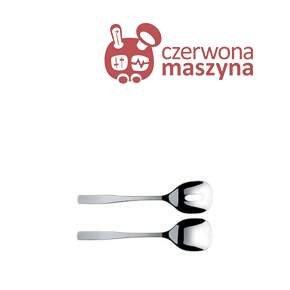 2 Łyżki do sałaty A di A di Alessi KnifeForkSpoon