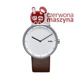Zegarek Alessi Out_Time brązowy