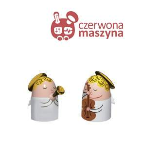 2 Figurki A di Alessi Angels Band 1