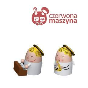 2 Figurki A di Alessi Angels Band 2