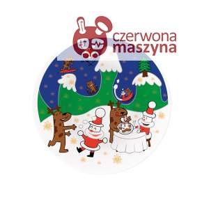 Patera A di Alessi Happy Snowtime