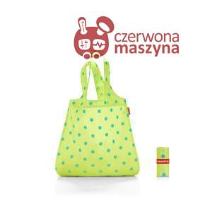 Torba na zakupy Reisenthel Mini Maxi Shopper 15 l, lemon dots