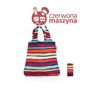 Torba na zakupy Reisenthel Mini Maxi Shopper 15 l, artist stripes