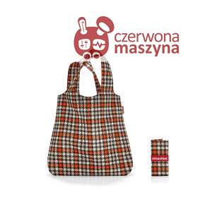 Torba na zakupy Reisenthel Mini Maxi Shopper 15 l, glencheck red