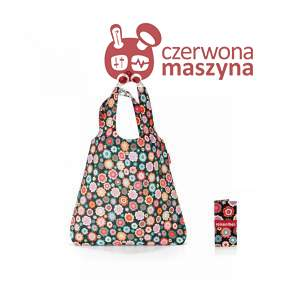 Torba na zakupy Reisenthel Mini Maxi Shopper 15 l, happy flowers
