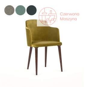 Krzesło tapicerowane Paged Lagom, kategoria 1, buk