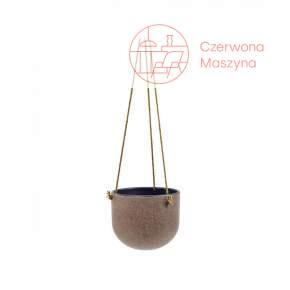 Osłonka na doniczkę wisząca Serax Vintage 21 cm, fioletowa