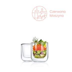 2 szklanki termiczne do espresso Blomus Nero