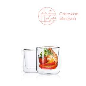 2 szklanki termiczne do kawy Blomus Nero