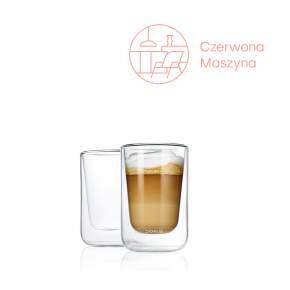 2 szklanki termiczne do cappuccino Blomus Nero