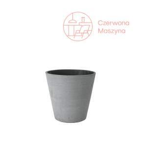 Osłonka na doniczkę Blomus Coluna 24 cm, ciemnoszara