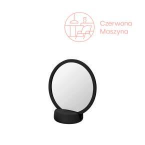 Okrągłe lusterko do łazienki, Blomus Sono, czarne