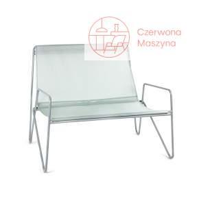 Fotel Serax Paola Navone 2, szaro-miętowy