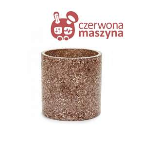 Osłonka na doniczkę Serax Terrazzo 25 cm, brązowa