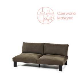 Sofa dwuosobowa Serax Bea Mombaers Outdoor zielono - brązowa