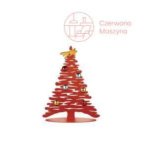 Choinka Alessi Bark for Christmas 25 cm, czerwona