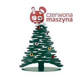 Choinka Alessi Bark For Christmas, 45 cm zielona