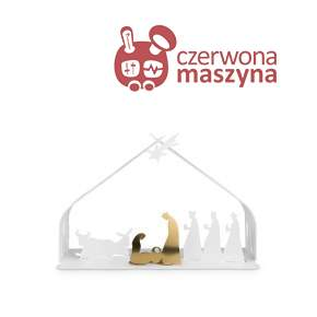 Szopka Alessi Bark for Christmas white