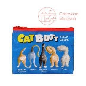 Portmonetka Blue Q Cat Butt
