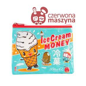 Portmonetka Blue Q Ice Cream Money