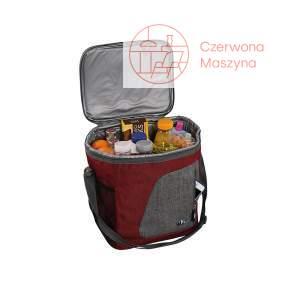 Torba termiczna piknikowa Cilio Cortina 13 l, czerwona