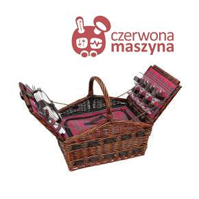 Kosz piknikowy z wyposażeniem dla 4 osób Cilio Como