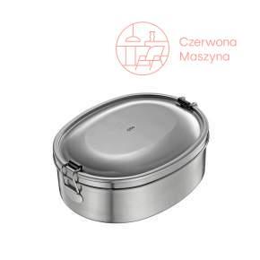 Pojemnik stalowy na lunch Cilio Monte, metaliczny