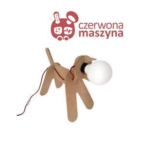 Lampa Eno Studio Get Out Dog beżowa