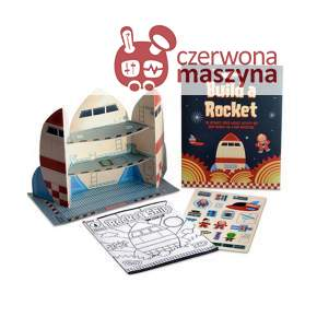3 Rakiety Papierowe Clockwork Soldier Build a Rocket
