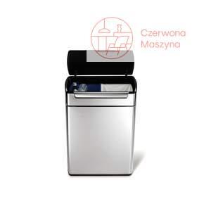 Kosz na śmieci Simplehuman Touch – Bar Recycler 48 l