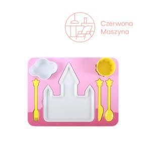 Zestaw obiadowy dla dzieci Doiy Dinner Set Princess