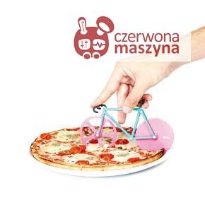 Nóż do pizzy rower Doiy Fixie Watermelon