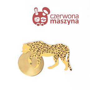 Nóż do pizzy Doiy Savanna Pizza Cutter, Cheetah