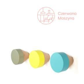3 Wieszaki Eno Studio Clou pastelowe