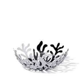 Misa Alessi Mediterraneo Ø 21 cm, srebrna