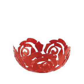 Misa Alessi La Rosa Ø 29 cm, czerwona