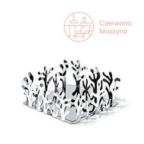 Serwetnik Alessi Mediterraneo 20,5 cm, srebrny