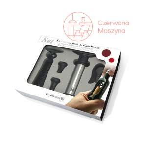 Zestaw akcesoriów do wina z manualnym korkociągiem Vin Bouquet 4 el.