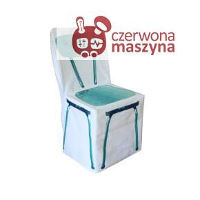 Pokrowiec na krzesło DayCollection 4meK, niebieski