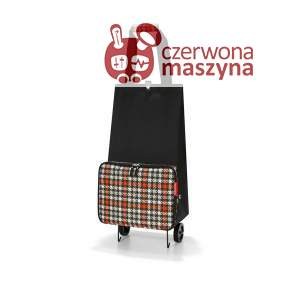 Wózek na zakupy Reisenthel Shopping FoldableTrolley, glencheck red