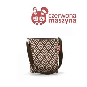 Torba listonoszka Reisenthel Shoulderbag S 4,7 l, diamonds mocha
