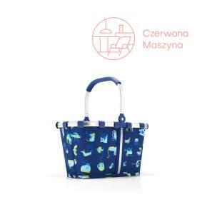 Koszyk dziecięcy na zakupy Reisenthel Carrybag XS kids abc friends blue